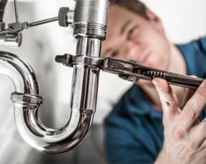 Plumber Fixing Plumbing