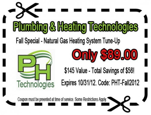 Fall Special Heating System Tune Up Coupon